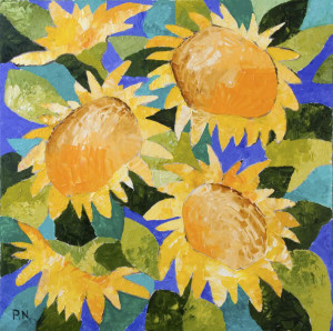 2010 Sanflowers 70x70