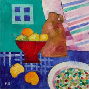 2010 Still life with the Fruit 60x60