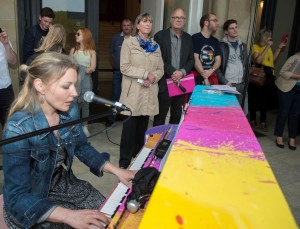 "03.06.2016, 17.00 h, inauguration du projet, ""My Urban Piano"", photos: Soubry Charles"
